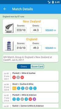 🏏live Cricket scores and news apk screenshot