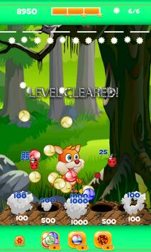 Bubble Shooter Squirrel poster