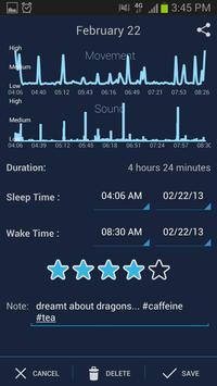 SleepBot تصوير الشاشة 2