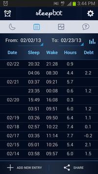SleepBot تصوير الشاشة 4