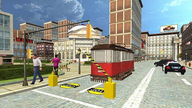 Tram Train Simulator 2017 poster