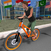 BMX City Bicycle Rider Race icon