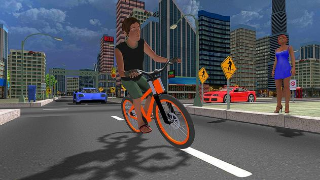 BMX City Bicycle Rider Race apk screenshot