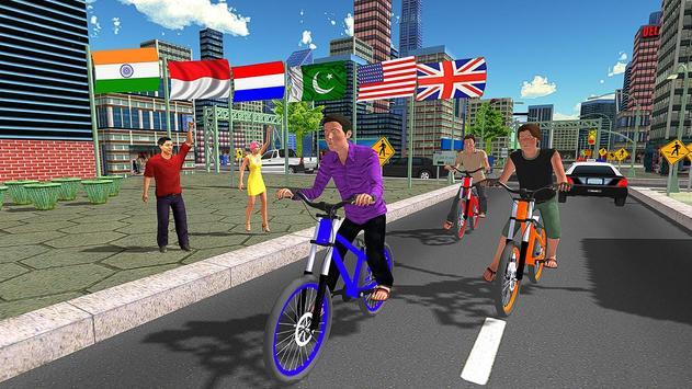 BMX City Bicycle Rider Race screenshot 10
