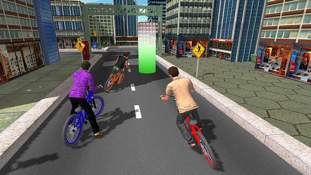 BMX City Bicycle Rider Race screenshot 1