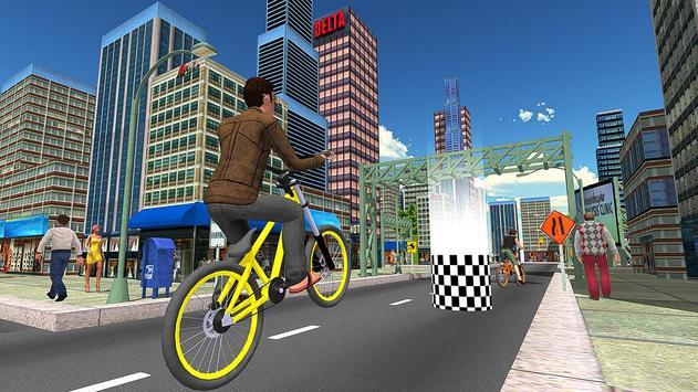 BMX City Bicycle Rider Race screenshot 2