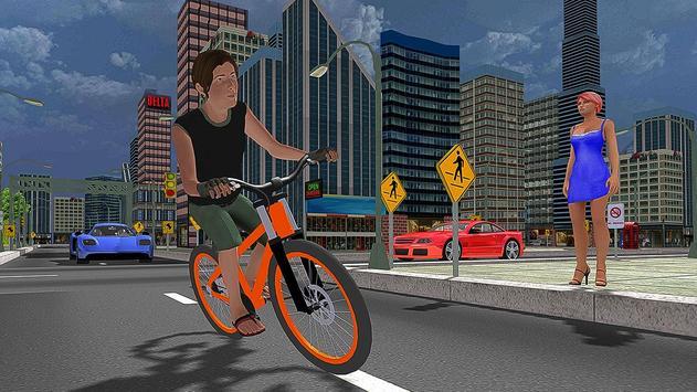 BMX City Bicycle Rider Race screenshot 3