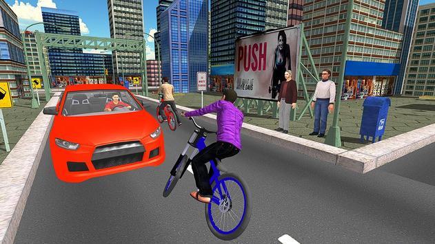 BMX City Bicycle Rider Race screenshot 7