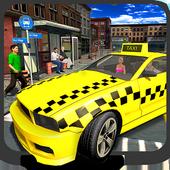 Crazy City Taxi Driver 2017 icon