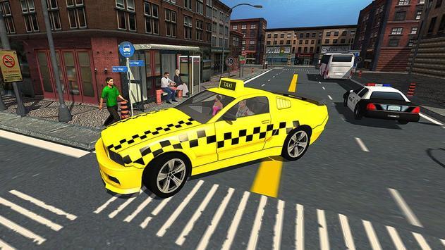 Crazy City Taxi Driver 2017 poster