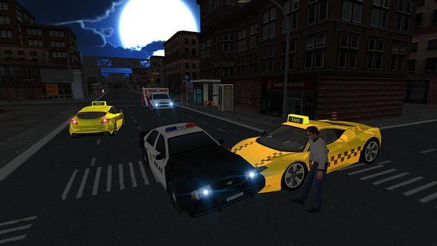 Crazy City Taxi Driver 2017 apk screenshot