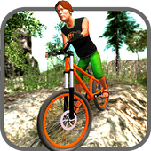 Offroad Mountain Bicycle Rider icon