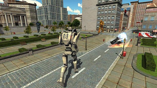 Real Robots War Steel Fighting apk screenshot