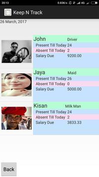 Keep n Track screenshot 1