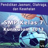 Kurikulum 2013 SMP Kls 7 PJOK icon