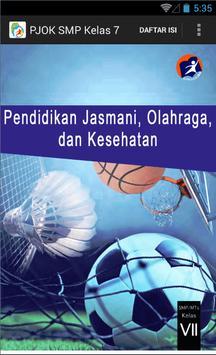 Kurikulum 2013 SMP Kls 7 PJOK poster