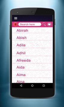 Muslim Baby Islamic Names screenshot 12
