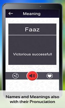 Muslim Baby Islamic Names screenshot 8