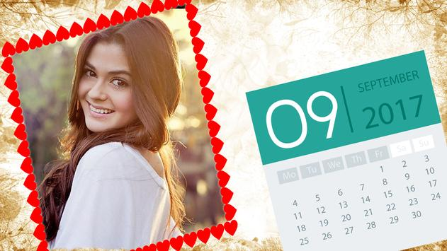 Calendar Photo Frames screenshot 1