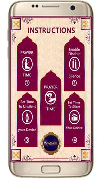 Muslim Salat Time Auto Silent screenshot 6