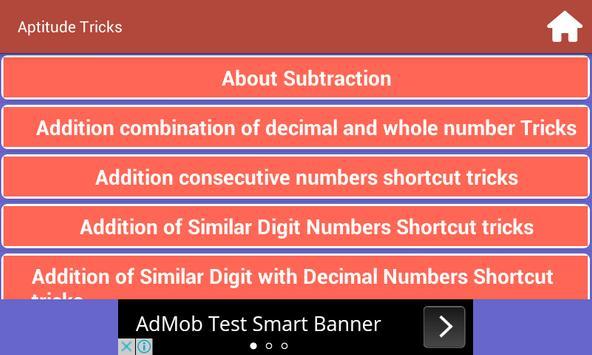 Reasoning And Aptitude Tricks apk screenshot