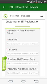 Bill Checker For PTCL DSL Evo 2017 screenshot 3