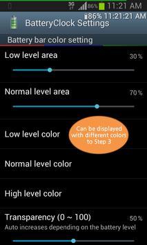 BatteryClock-Ad apk screenshot