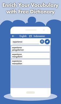 Indonesian English Translator - Dictionary screenshot 2