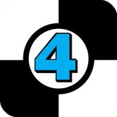 White tiles 4: The new one icon