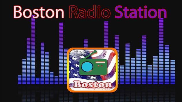 Boston Radio Station poster