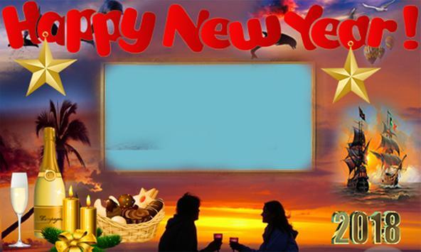 Happy New Year Frames 2018 screenshot 4