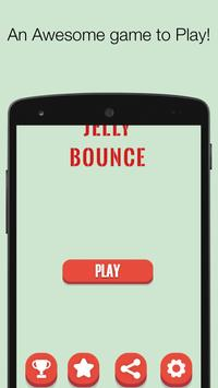 Jelly Bounce - Tap to bounce game poster