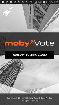 mobyVote poster