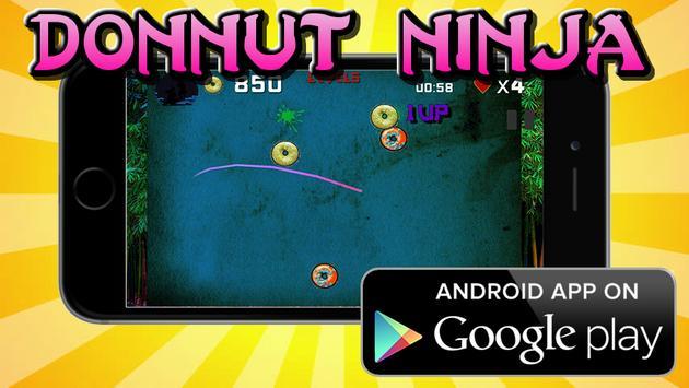 DONNUT NINJA screenshot 1