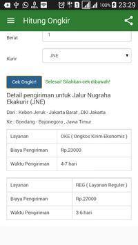Cek Ongkir JNE Jakarta dan Semua Kurir apk screenshot