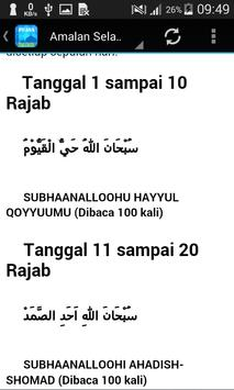 Niat Puasa Rajab screenshot 5