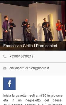 Cirillo Francesco Parrucchieri apk screenshot