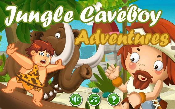 Jungle CaveBoy Adventures poster