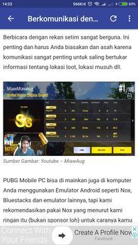 Guide PUBGM Indonesia apk screenshot