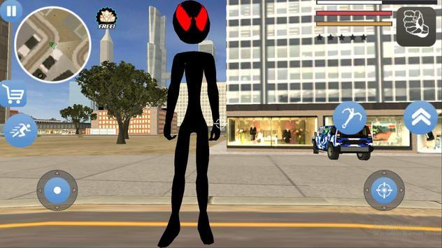 Grand Stickman Theft Rope Hero screenshot 8
