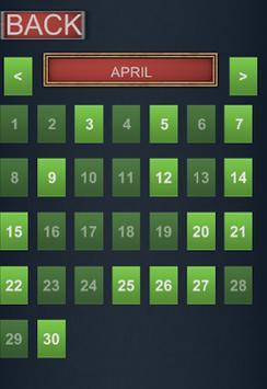 Calendar - Assassin's Creed screenshot 1