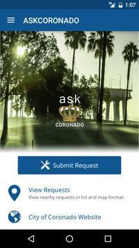 ASK CORONADO poster