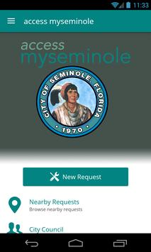 access myseminole poster