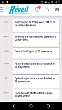 Le Reveil de Neufchâtel apk screenshot