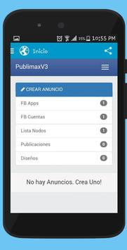 Publicador de Facebook Pago apk screenshot