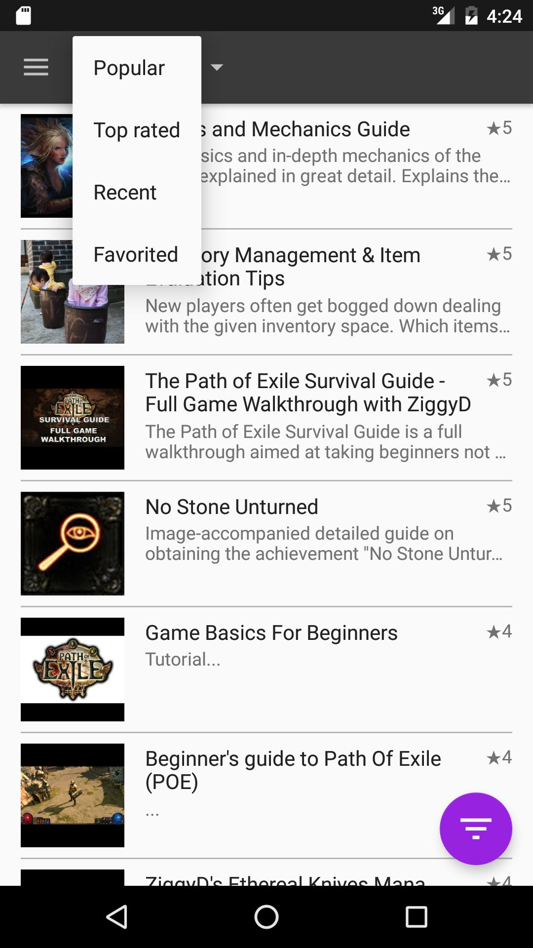 GameQ: Path of Exile for Android - APK Download