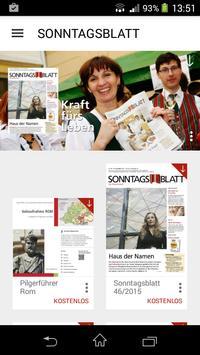 Sonntagsblatt poster