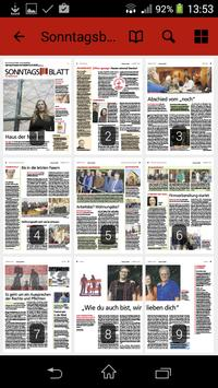 Sonntagsblatt apk screenshot