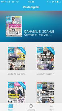 Vesti digital apk screenshot