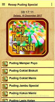 Resep Puding Spesial screenshot 1